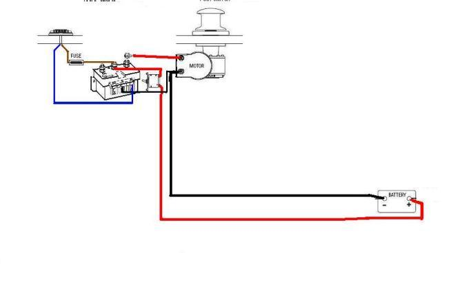 Winch wiring 2 abb contactor wiring diagram single phase motor reversing diagram anchor winch wiring diagram at virtualis.co
